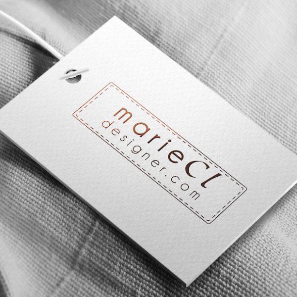 Étiquette pour vêtement